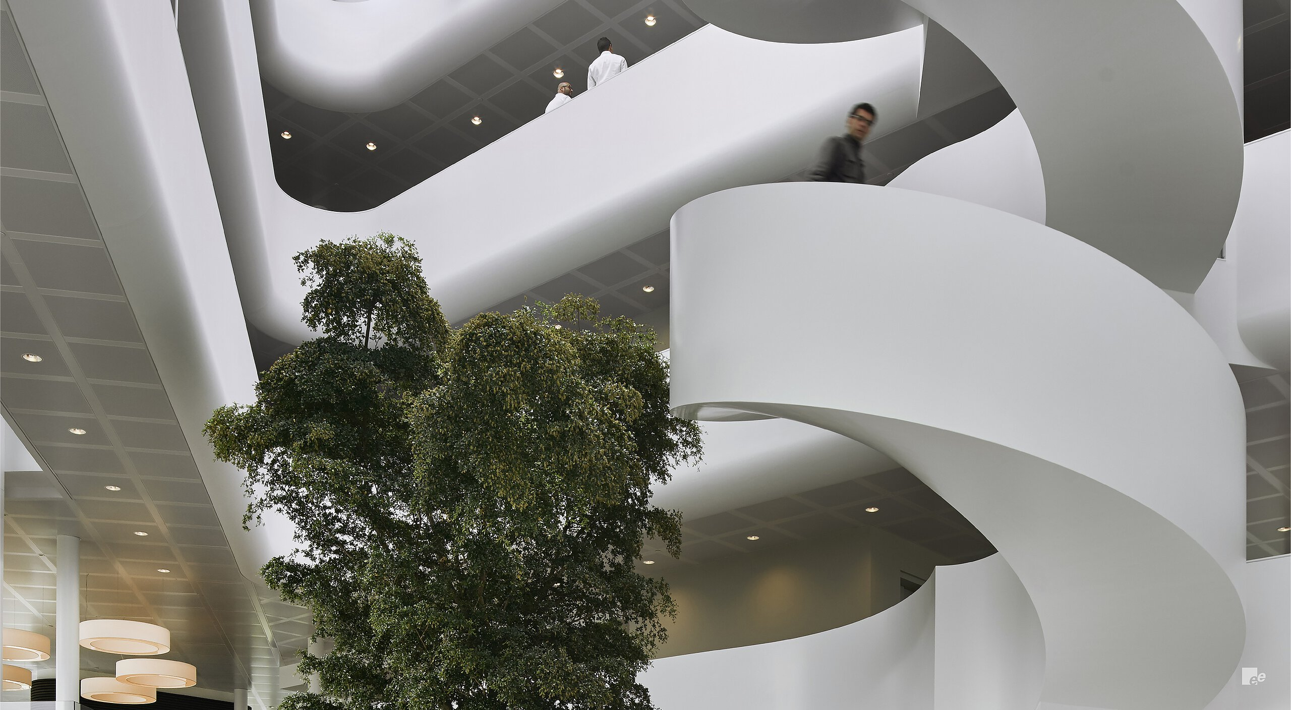 Exclusive staircase for Vreugdenhil Offices